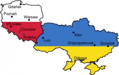 polonia y ucrania